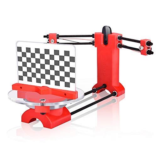 3D Scanner DIY Scanner Kit 3D Scanner Open Source Scanner Hochpräziser Desktop für 3D Drucker, Designer und Ingenieur DIY Basic 3D Scanner Kit Injektion Teile