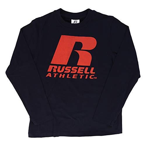 Russell Athletic - Camiseta para niño (Talla L/S), Niños, Turquesa, 176