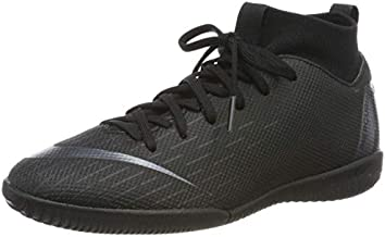 Nike Jr. MercurialX Superfly VI Academy Little/Big Kids' Indoor/Court Soccer Shoe (1 Little Kid M)
