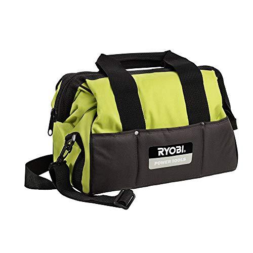 Ryobi 5132000100 Nylon Werkzeugtasche klein Typ UTB2, Schwarz, Gelb