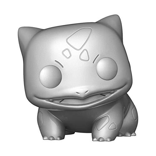 Funko Pop! Games: Pokemon – Bulbasaur (Silver Metallic) Figura de vinilo coleccionable