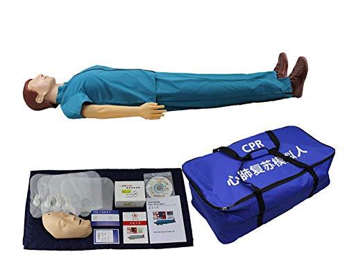 RCP Maniquí De Entrenamiento CPR Medical Simulador De Paciente Humano Y Cuerpo Completo Básico Enfermería Profesional Maniquí De Entrenamiento