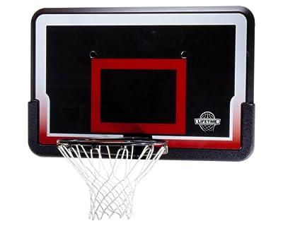 Lifetime 3819 Basketball Backboard and Rim Combo with 44in Impact Backboard