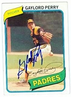 Best gaylord perry autographed card Reviews