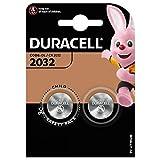 DURACELL Lot de 2 Piles bouton lithium'Electronics' CR2032