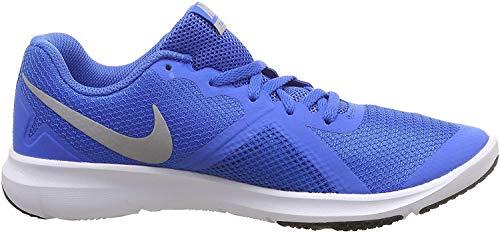 Nike Men Flex Control Ii Blue/Silver White Training Shoes-10 UK (45 EU) (11 US) (924204-403)