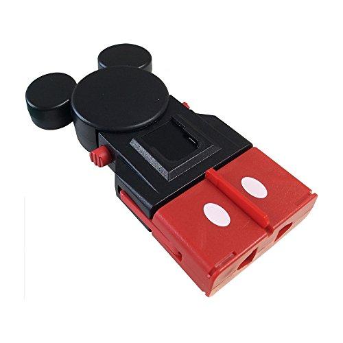 カシムラ『海外用変換プラグサスケ/ミッキーマウス(WP-65C)』
