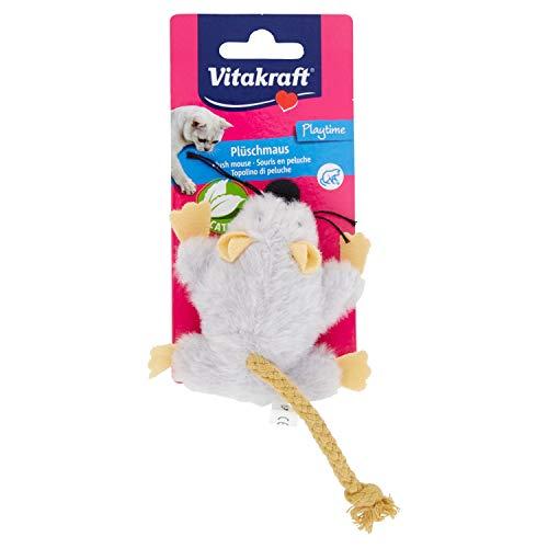 Vitakraft - Giocattolo a forma di topo con erba gatta