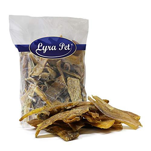 Lyra Pet® 1 kg Rindernackensehnen 1000 g Nackensehnen Streifen Kausnack wie Ochsenziemer