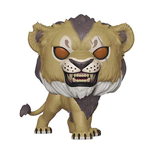 Funko- Pop Vinile: Disney: The Lion King (Live Action) -Scar Figura da Collezione, Multicolore, 38546