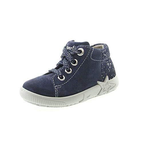 Superfit Baby Mädchen STARLIGHT Sneaker, Blau (Blau 80), 24 EU