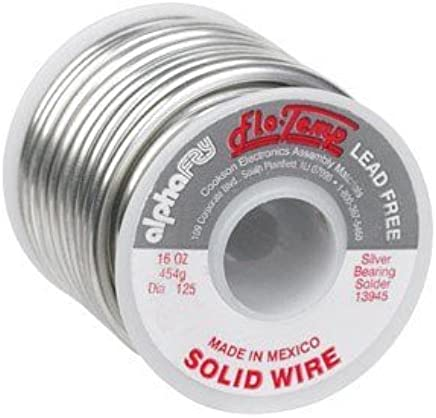 FLO-TEMP LEAD-FREE SOLID WIRE SOLDER by Alpha Metals