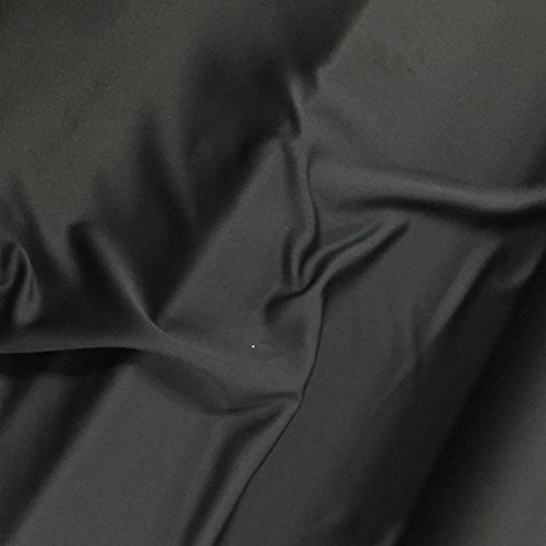 Schwarzer Verdunkelungsstoff Venus, 150 cm, feuerfest, für Vorhänge, Theaterbühne, einfarbig Meterware., Textil, Schwarz , SAMPLE 10CM X 10CM