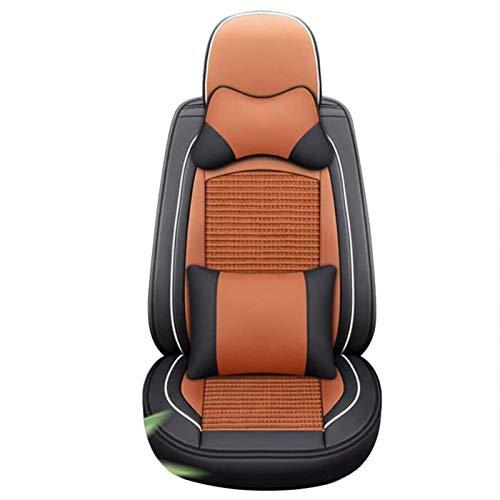 WFSH Four Seasons General Motors - Funda de asiento de coche de piel transpirable compatible con Vol