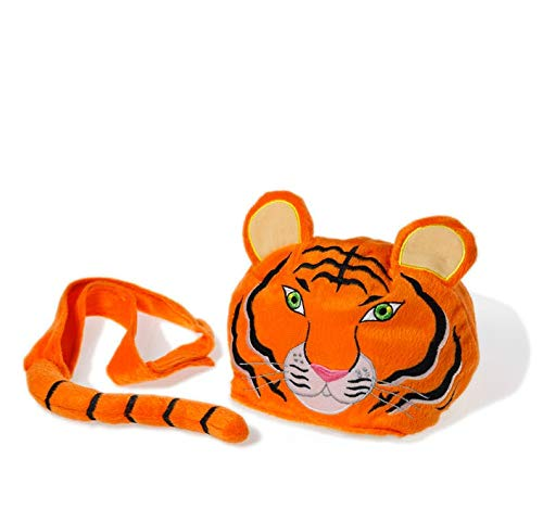 Children Fancy Dress/Dressing Up Tiger Costume/Hat and Tail. Adjustable Fit from 1 Year + (Bonnet/Chapeau)