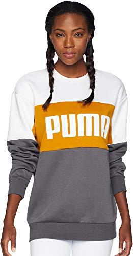 PUMA Retro Crew Sweatshirt Sudadera, Puerta de Hierro, L para Hombre