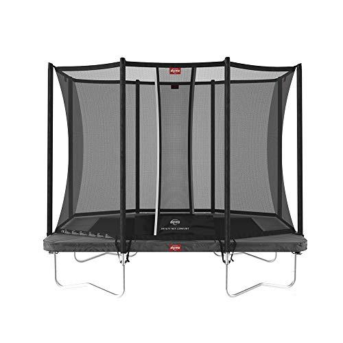 BERG Trampoline Favorit rectangular 280 with Safety Enclosure Net Comfort | Trampoline for kids, Premium Trampoline, Kids trampoline, Longer Lifetime Warrenty, Goldspring Springs