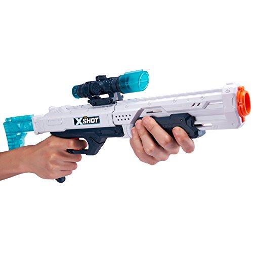 X-Shot ZURU – 36189 Hawk Eye Juguete Blaster y 12 Dardos +