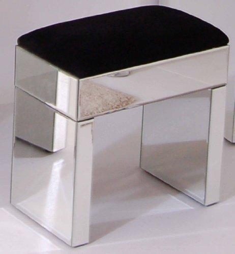 My-Furniture - Sgabello - a Specchio per toletta/Console - Serie Chelsea