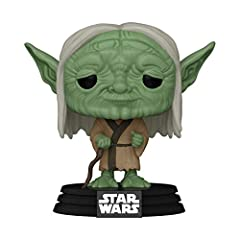 From Star Wars Concept, Yoda, as a stylized Pop! Stylized collectable stands 3 ¾ inches tall, perfect for any Star Wars Concept fan! Collect and display all Star Wars Concept POP! Vinyls!