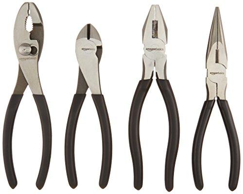 Amazon Basics Plier Tools Set - Set of 4
