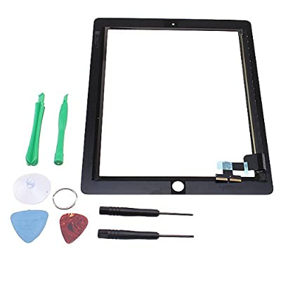 Black Digitizer Replacement Touch Screen For iPad 2