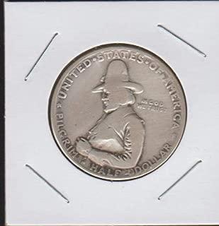 1920 Pilgrim Tercentenary Hald Dollar Half Dollar Very Good