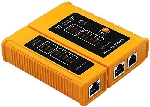 GXT Herramienta de Prueba del probador de Cable RJ45 RJ11 RJ12 UTP USB LAN Cable Ethernet Tester (Batería no incluida) Herramienta