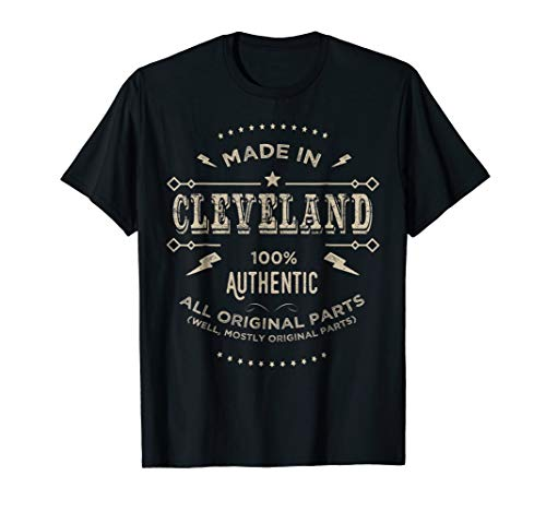 Made In Cleveland Ohio Shirt Home Shirt Cleveland Gift