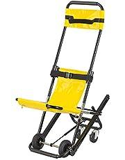 Ladder Silla de Escalera Plegable, Sillas de Escalera para Ascensores médicos para Subir y Bajar escaleras, escaleras estrechas y pasillos Silla de evacuación, Capacidad de 300 Libras