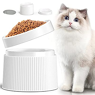 Amazon - 50% Off on Elevated Cat Food Bowl Cat Dish, Tilted Pet Feeding Station with Stand