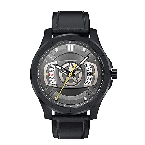 BATQER Smartwatch, Frecuencia Cardíaca, Presión Arterial, Detección De Sueño, Llamada Bluetooth, Almacenamiento De Música Local, Reloj De Marcación Personalizada,D