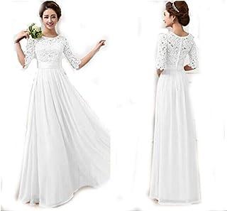 Duplus Evening Lace Dress For Women - Large