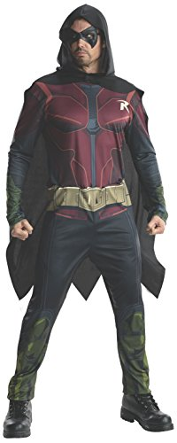 Rubie's Men's Batman: Arkham City Adult Robin Costume
