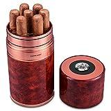 Tube Hydratant Portatif De Voyage De Tube De Cigare 7 Colle La Grande Capacité Avec Des Accessoires De Thermomètre