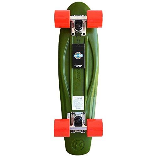 Kryptonics Skateboard, Camouflage-Design