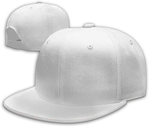 NJAAN Mens Women's Hip Hop Baseball Cap Comfortable Dobre Logo Adjustable Hat Unisex,White,One Size