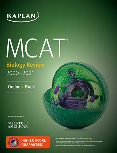 MCAT Biology Review 2020-2021: Online + Book (Kaplan Test Prep)