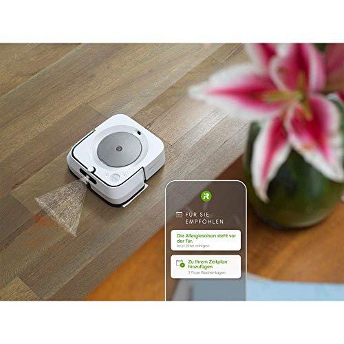 iRobot Braava m6 (m6134) Wischroboter mit WLAN, Präzisions-Sprühstrahl und erweiterter Navigation, Zeitplanreinigung, lernt und passt sich Ihrem Zuhause an, Nass- und Trockenwischen, App-Steuerung - 6