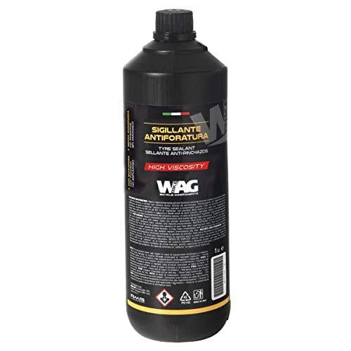 MIGOU BCN Liquido Antipinchazos Tubeless - 1 litro Anti pinchazos preventivo y reparador Liquido tubeless y Cubiertas con cámara (1000ml)