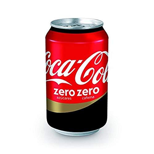 Coca Cola Zero Sans Caféine 24x33cl (Pack 24 Canettes)