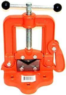 Lotus Analin Bench Pipe Vise # 2 Yoke Hinged Clamp on Type Pipe Threader Plumbing Vice Tools