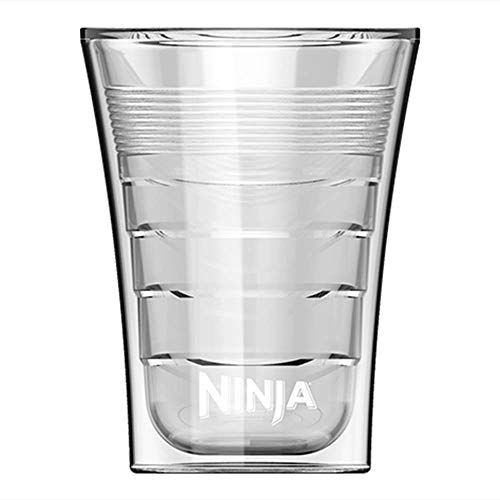 14 Oz Microwave Safe Plastic Double-Insulated Cup for Ninja Coffee Bar (8 Pack)