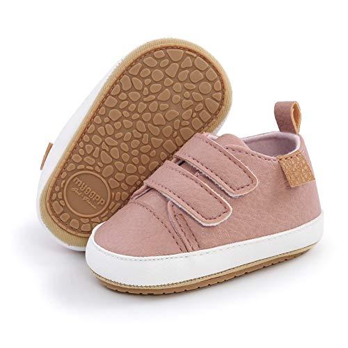 Zapato Bebe Niño Oxford Zapatos Bebe Niña Zapatillas Primeros Pasos Antideslizantes para Bebés