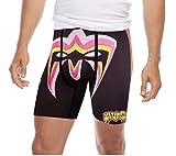 Mens Black WWE Ultimate Warrior FocusFit Boxer Briefs Underwear Large