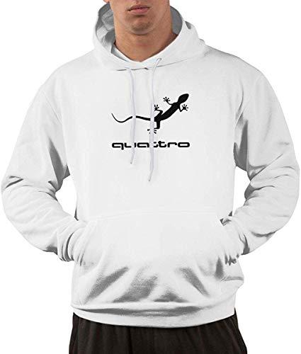 dsgdfhfgjghcdvdf C-Joy Men's Hoodies Quattro Car Pullover Hooded Sweatshirt Jackets with Pocket S
