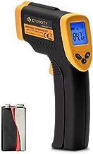 Etekcity Digital Laser Temperature Gun Non-Contact IR Thermometer-58℉ to 716℉ (-50℃ to 380℃), Standard Size, Black & Yellow