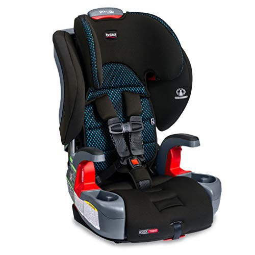 Britax Grow with You ClickTight Harness-2-Booster Car Seat | 2 Layer Impact Protection - 25 to 120 Pounds + Cool Flow Ventilating Fabric, Cool Flow Teal [New Version of Frontier]