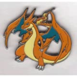 Pokemon Trading Card Game XY Break Through Mega Charizard Y Red Limited Edition Collector Pin / League Badge (1.75 Inch)