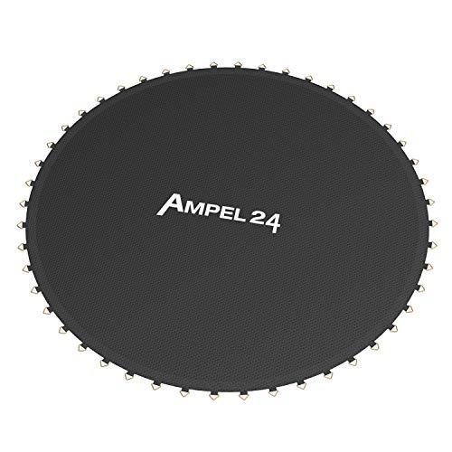 Ampel 24 - Tappeto da Salto per Trampolino Elastico con Un Diametro di 2,44 m / 48 Occhielli/Cucitura decupla/Resistente/capacità Massima 100kg